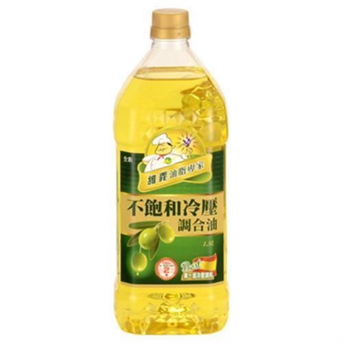 維義 不飽和冷壓調和油(1.5L/瓶)