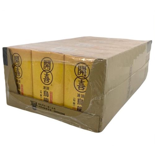 《開喜》凍頂烏龍茶-微糖(250ml*24包/箱)