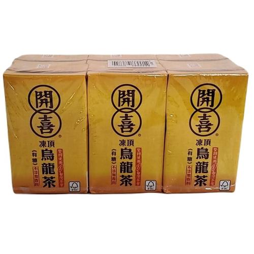 開喜 凍頂烏龍茶(微糖)(250ml*6包/組)