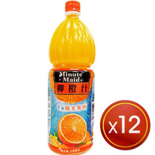 美粒果 柳橙果汁(1250ml*12瓶/箱)