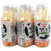 《國農》果汁調味乳(190ml*6瓶/組)