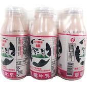 《國農》草莓調味乳(190ml*6瓶/組)