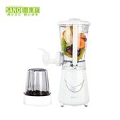 《思樂誼SANOE》生機健康果汁機(附研磨杯)-B24(白色)