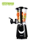 《思樂誼SANOE》生機健康果汁機(含水龍頭)-B23(黑色)