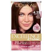 《L'oreal Paris》巴黎萊雅優媚霜三重護髮染髮霜 4.35(172ml/組)