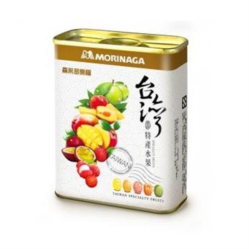森永 多樂福水果糖-台灣特產水果(180g/罐)
