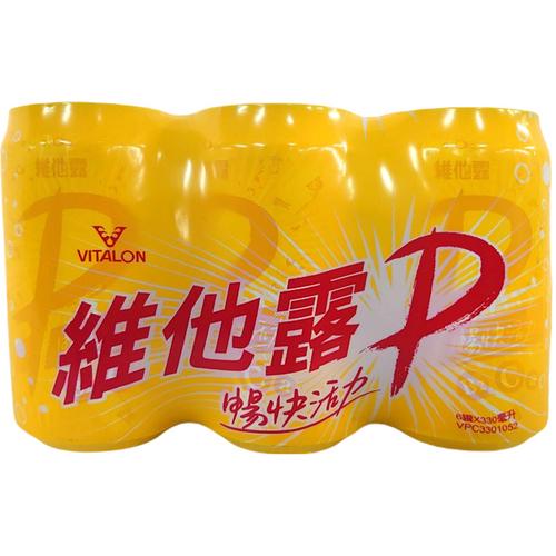 維他露P 汽水(330ml*6罐/組)