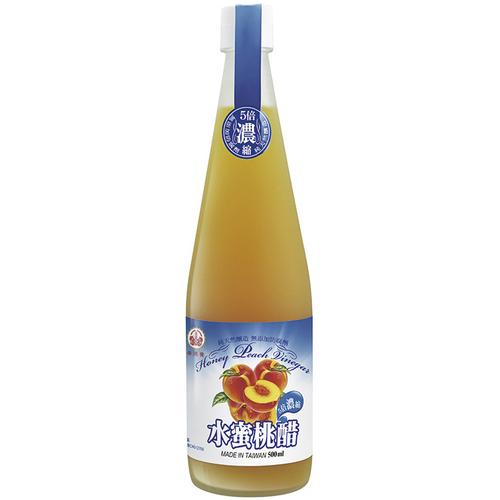 崇德發 水蜜桃醋(500ml/瓶)