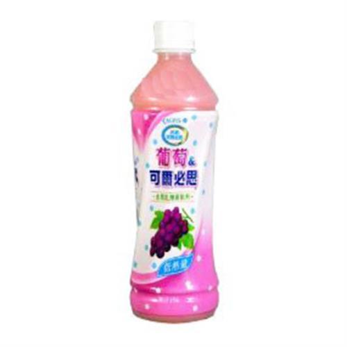 可爾必思 葡萄乳酸菌飲料(500ml*4瓶/組)