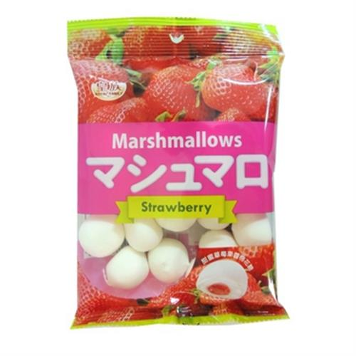 草莓夾心棉花糖(100g/包)
