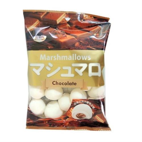巧克力夾心棉花糖(100g/包)