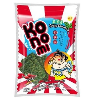 KoNoMi相撲手 脆紫菜-辣味(40g/包)