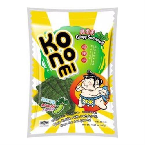 KoNoMi相撲手 脆紫菜-芥末口味(40g/包)