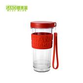 《思樂誼SANOE》七彩繽紛隨身杯-GO CUP(紅色)