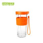 《思樂誼SANOE》七彩繽紛隨身杯-GO CUP(橙色)