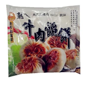 達人上菜 牛肉餡餅(300g/盒)