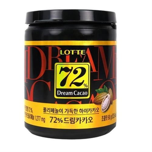 LOTTE Dream夢幻巧克力72%(90g/罐)