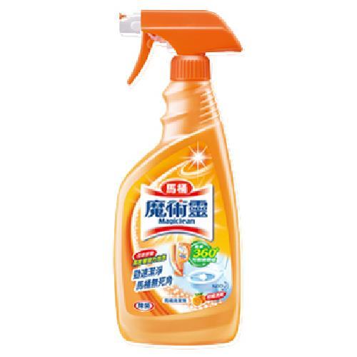 《魔術靈》高密泡馬桶清潔劑噴槍瓶(500ml/瓶)