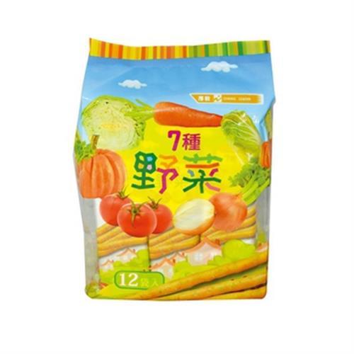 厚毅 七種野菜脆棒餅(192g/包)