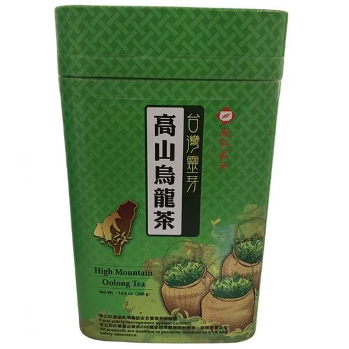 天仁 台灣靈芽-高山烏龍茶(300g/罐)