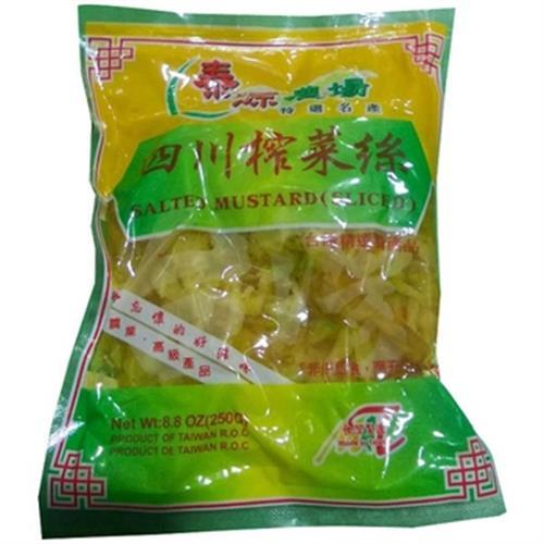 堡晟 四川榨菜絲(250g/包)