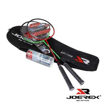 《艾可兒》【JOEREX】羽球拍對拍附球-JDA11508