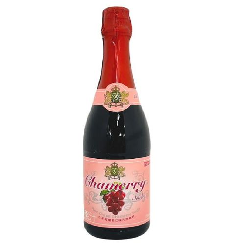 《七星》紅葡萄汽泡香檳飲料-玻璃瓶(750ml/瓶)