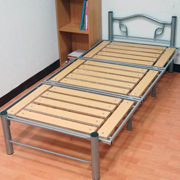 KOTAS 收納折疊高質感鋼管床架(單人)