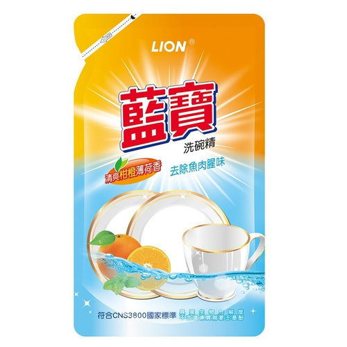 藍寶 除菌洗碗精補充包(800g/包)