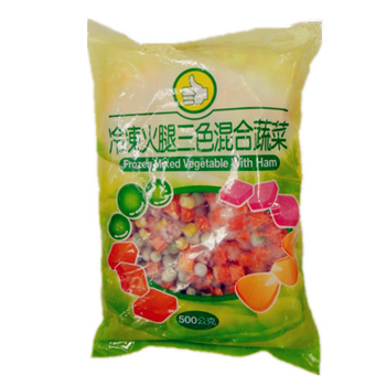 FP 冷凍火腿三色混合蔬菜(500g±5%/包)