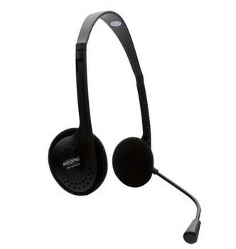 INTOPIC 頭戴式耳機麥克風 SR-MK02