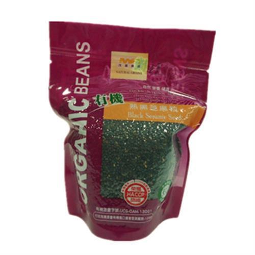有機熟黑芝麻粒(150G±4.5%/包)