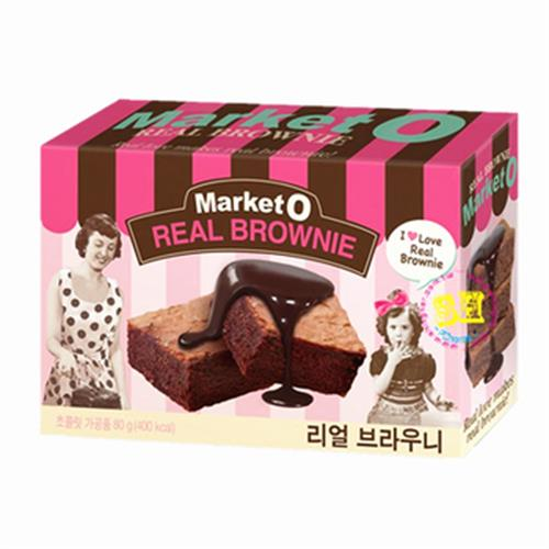 Market O 布朗尼蛋糕(80g/盒)