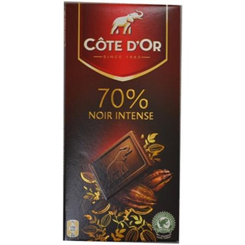 《比利時Cote d'Or》大象70%黑巧克力(100g/片)