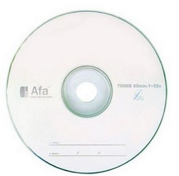 AFA 52X白金片50入布丁桶(CDRSS80F050)