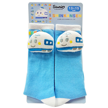 Sanrio 三麗鷗新幹線襪子(新幹線立體中筒襪)