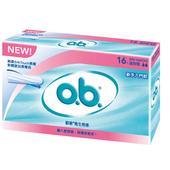 《OB歐碧》衛生棉條-迷你型(16入)