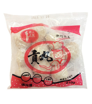 達人上菜 貢丸(210g/包)