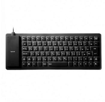 Song Win MCK-90 軟式折疊防水鍵盤(黑)