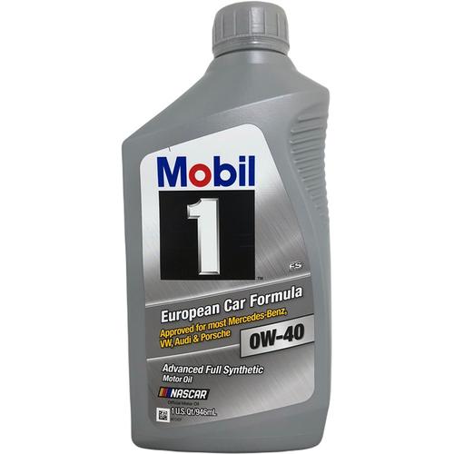 美孚Mobil 1號白金全合成 0W40機油1QT(946ml)