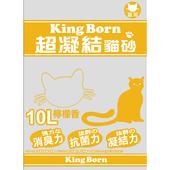 《KB》超凝結貓砂-檸檬香(10L/包)