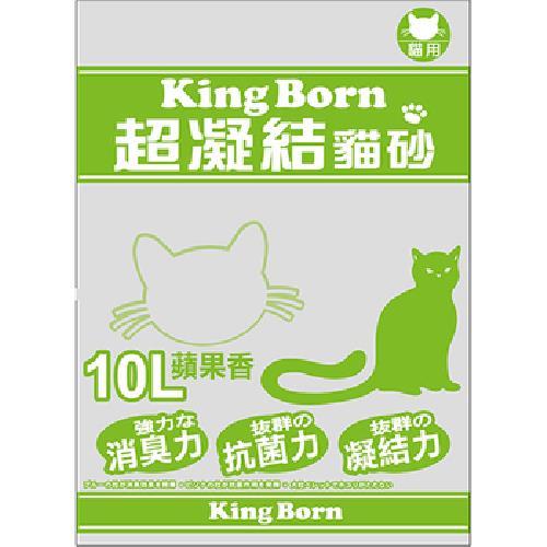 KB 超凝結貓砂-蘋果香(10L/包)