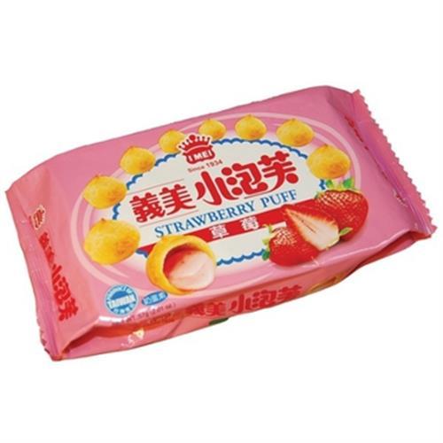 義美 小泡芙-草莓(57g/包)