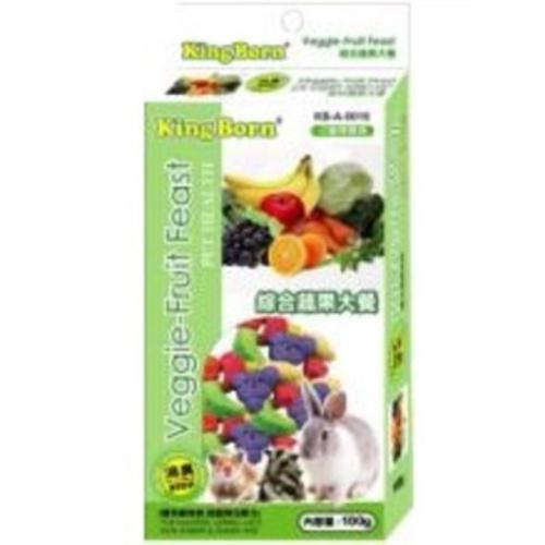 綜合蔬果大餐(小動物專用)(100g/盒)