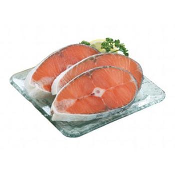 冷凍鮭魚切片(100~120g/片)