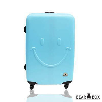 BearBox 微笑系列霧面材質28吋旅行箱/行李箱(天藍)