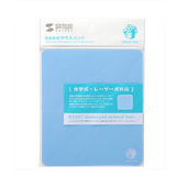 SANWA粉彩滑鼠墊(藍色)