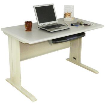 時尚屋 4尺CD灰色辦公桌