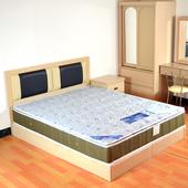 《時尚屋》側邊3D透氣6尺加大雙人獨立筒床墊