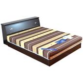 《時尚屋》克洛伊5尺床箱型3件房間組(胡桃)